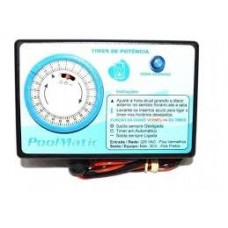 Temporizador - Timer Pool Matic - até  1CV - Pure water